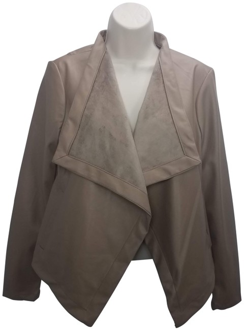 Item - Brown Peppin Open Front Jacket Size 8 (M)