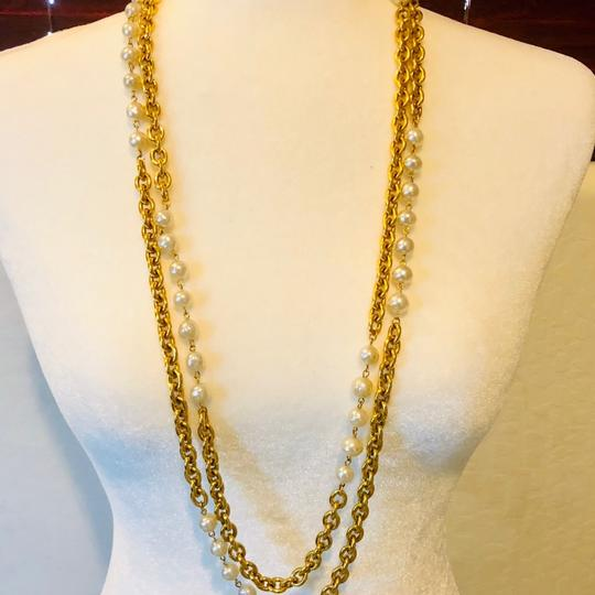 Chanel Chanel Runway Double Strands Long Station Necklace Image 1