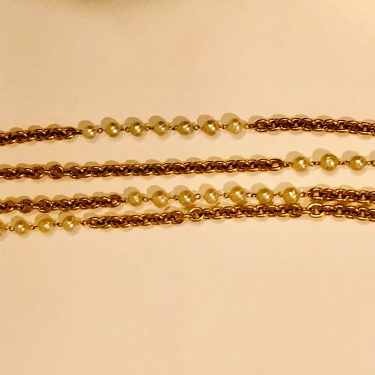 Chanel Chanel Runway Double Strands Long Station Necklace Image 2