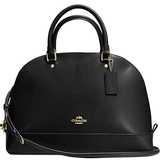COACH New With Tags Satchel in BLACK Image 0