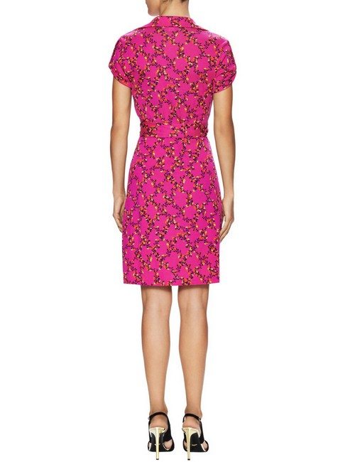 Diane von Furstenberg Jilda Wrap Hollywood Date Night Fall Dress Image 3