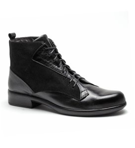 Naot Black Lace Up Oxford Boots