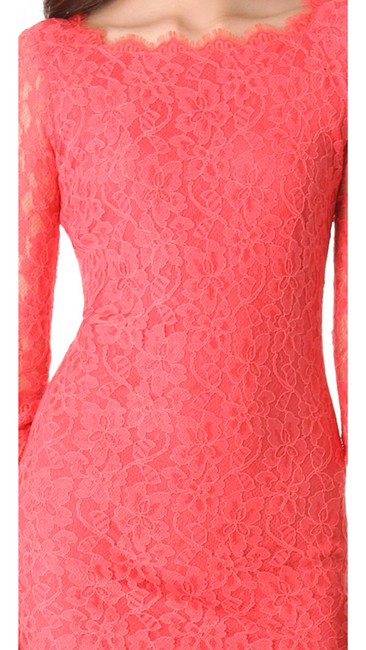 Diane von Furstenberg Lace Sheath Hollywood Date Fall Dress Image 8