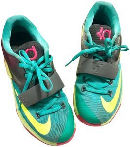 Nike Lace-up Teal Athletic
