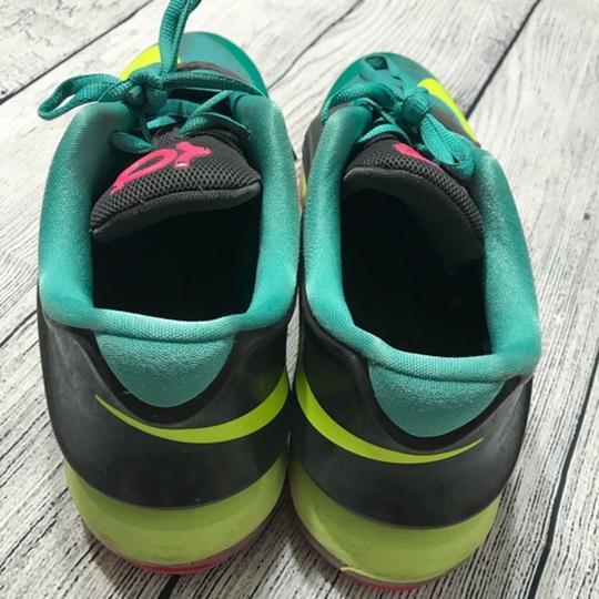 Nike Lace-up Teal Athletic Image 1
