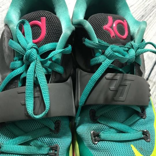 Nike Lace-up Teal Athletic Image 2