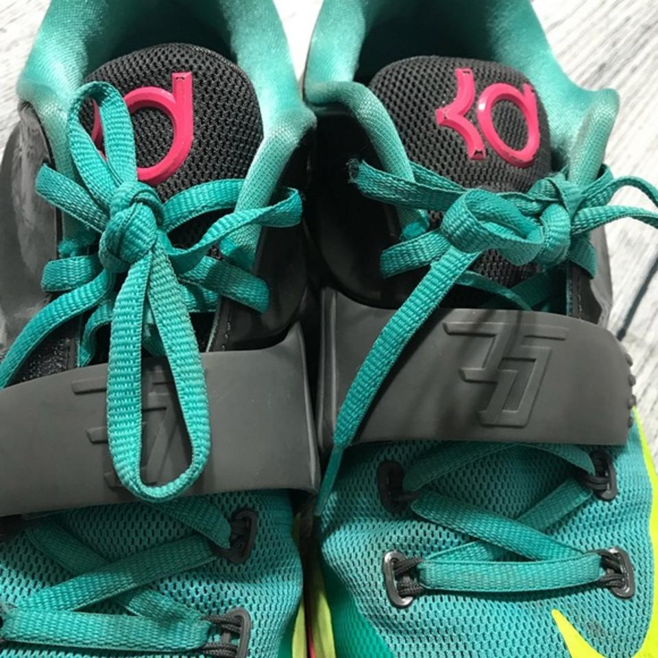 b44f0f958be31 Nike Teal Youth Rubber Sneakers Size US 6 Regular (M