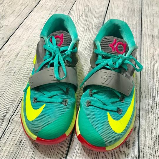Nike Lace-up Teal Athletic Image 6