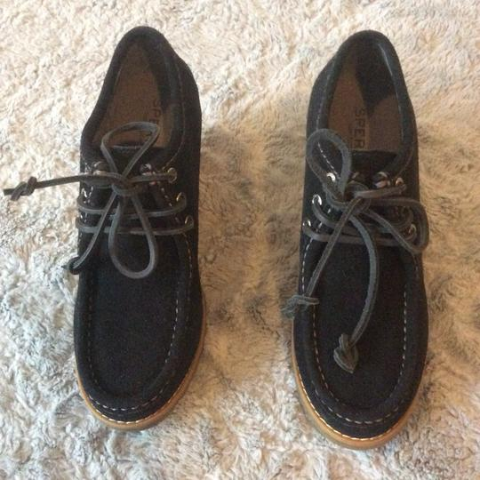 Sperry Black Boots Image 1