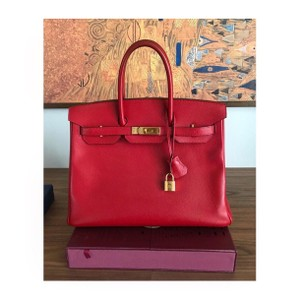 Hermès Tote in Rouge