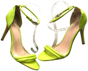 Prabal Gurung for Target Ankle Strap Neon Sandals
