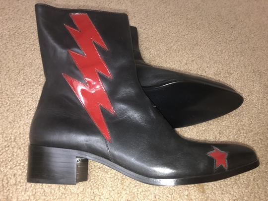 Modern Vice black / red bolt Boots Image 5