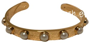 kate spade Gold Pearl Studded Cuff Bracelet kate spade Gold Pearl Studded Cuff Bracelet