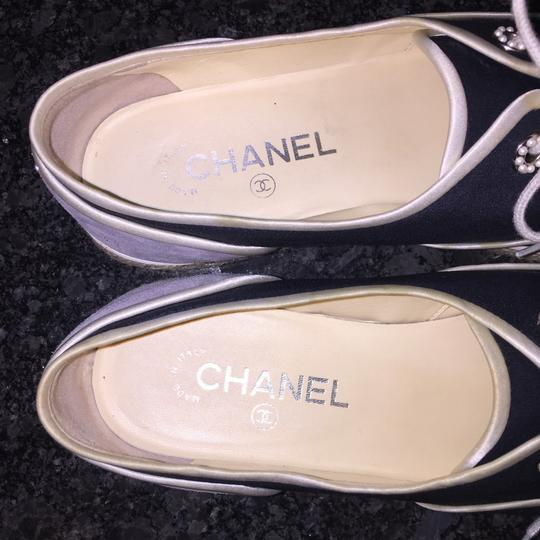 Chanel Gray Athletic Image 4