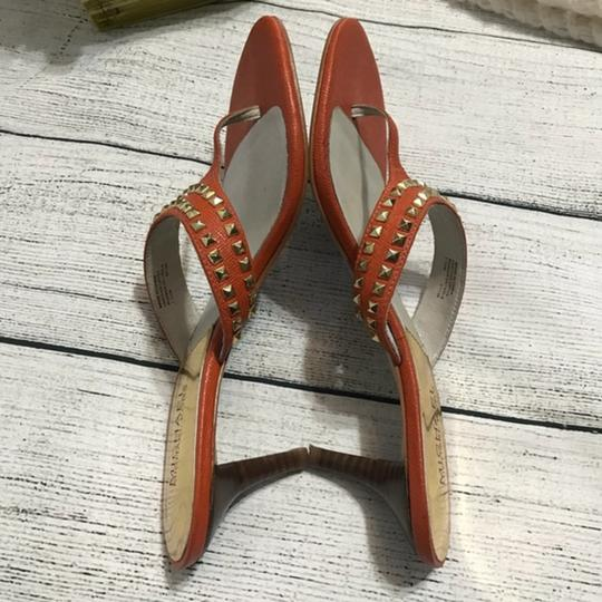 MICHAEL Michael Kors Studded Orange Sandals Image 5