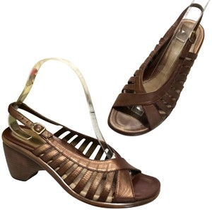 Dansko Slingback Brown Sandals