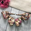 Jessica Simpson Ankle Strap Pink Brown Sandals Image 2