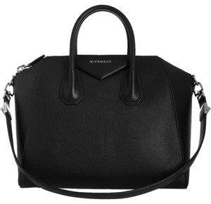 Givenchy Antigona Medium Antigona Sugar Tote in Black