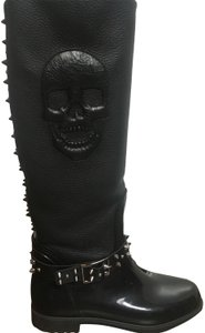 Philipp Plein Black Boots
