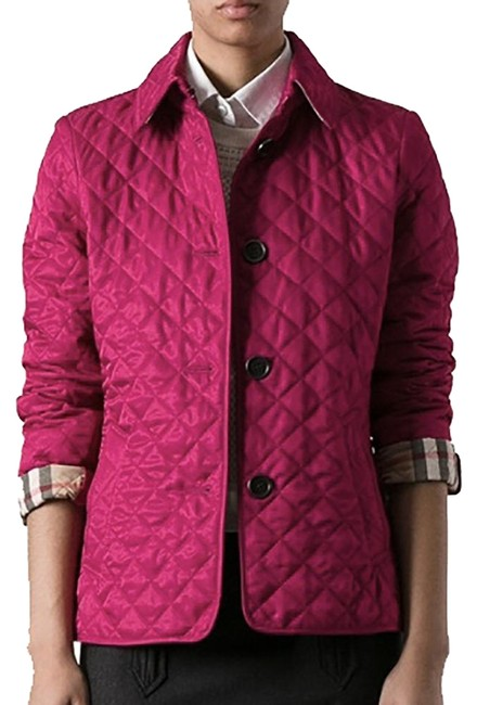 Item - Deep Fuchsia Copford Quilted Jacket Size 4 (S)