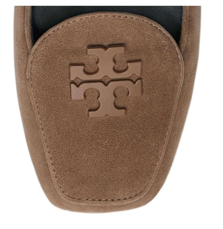 7dc656082857ed Tory Burch Taupe Suede Fitz Loafers Flats Size US 8.5 Regular (M