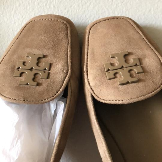 Tory Burch Taupe Flats Image 4