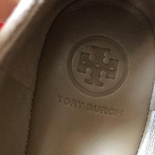 Tory Burch Taupe Flats