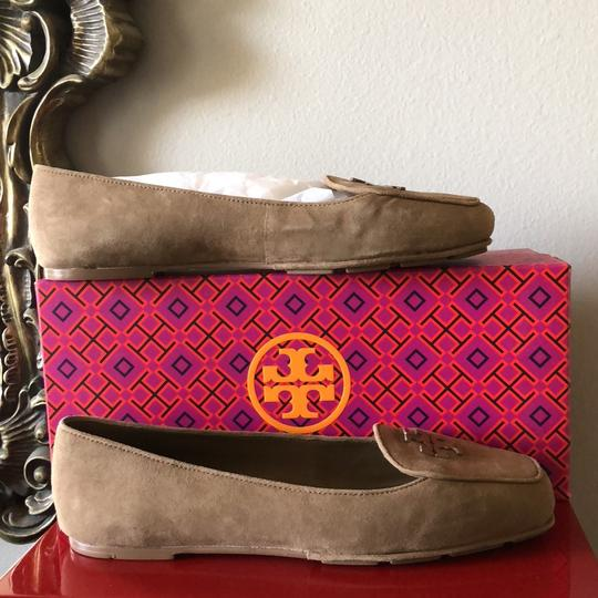 Tory Burch Taupe Flats Image 7
