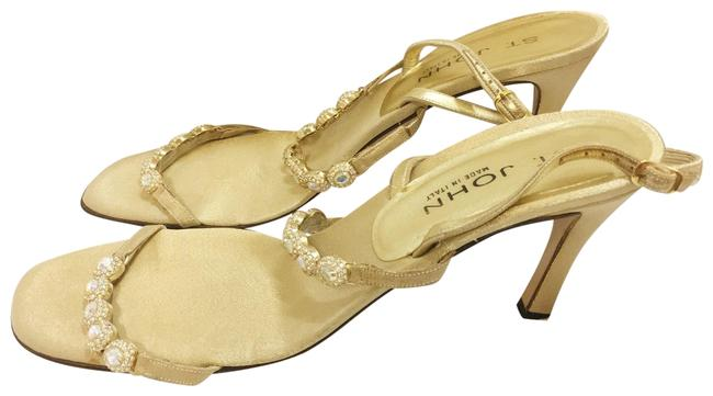 Item - Gold Crystal Pumps Size US 11 Regular (M, B)