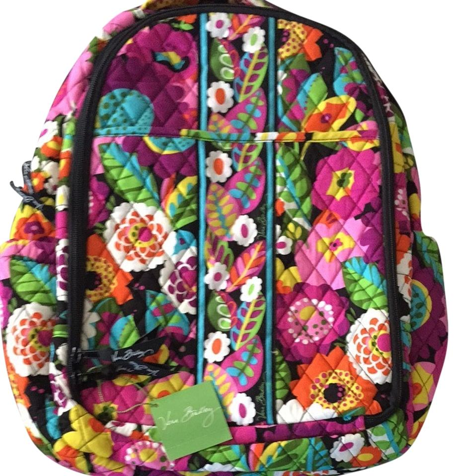 Vera Bradley Fl Multicolor Diaper Bag