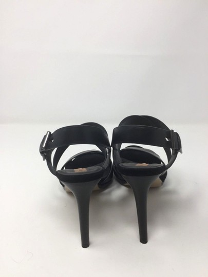 Reed Krakoff Confortable Classic Leather Boxer Platform Black Sandals Image 1