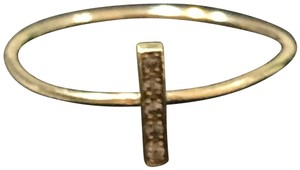 Jennifer Meyer Jewelry Jennifer Meyer Diamond Bar Stacking Ring