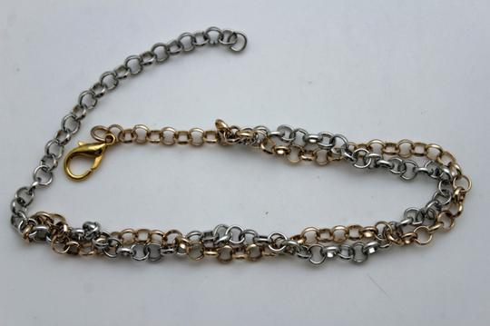 Alwaystyle4you Women Silver Gold Metal Chain Boot Bracelet Bling Anklet Shoe Charm Image 5