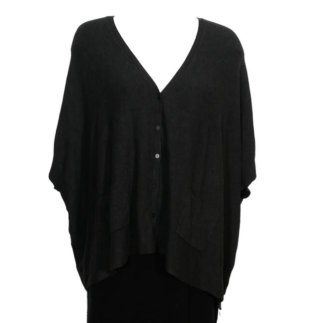 Preload https://img-static.tradesy.com/item/24216797/eileen-fisher-charcoal-gray-cozy-viscose-stretch-knit-s-cardigan-size-6-s-0-0-650-650.jpg