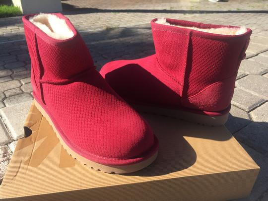 UGG Australia Winter Fur Winter For Her Gift Ideas For Women Pink Boots Image 1