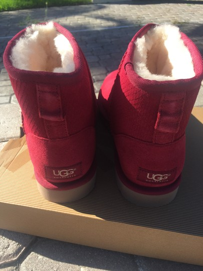 UGG Australia Winter Fur Winter For Her Gift Ideas For Women Pink Boots Image 2