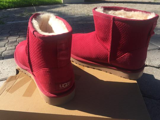UGG Australia Winter Fur Winter For Her Gift Ideas For Women Pink Boots Image 6
