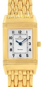 Jaeger-LeCoultre Jaeger LeCoultre Reverso Silver Dial Yellow Gold Ladies Watch Q2611110