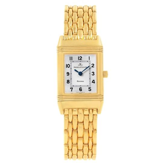 Jaeger-LeCoultre Jaeger LeCoultre Reverso Silver Dial Yellow Gold Ladies Watch Q2611110 Image 1