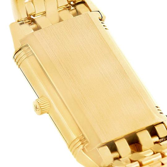 Jaeger-LeCoultre Jaeger LeCoultre Reverso Silver Dial Yellow Gold Ladies Watch Q2611110 Image 10