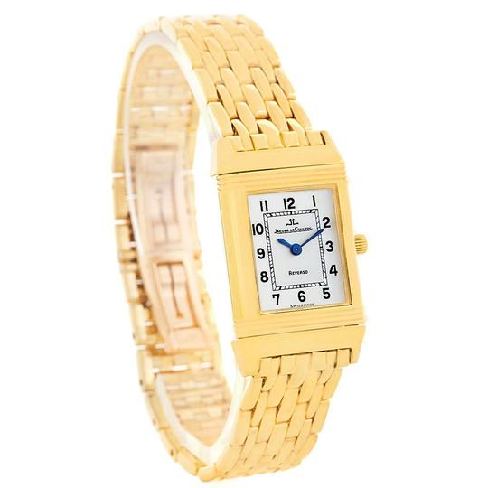 Jaeger-LeCoultre Jaeger LeCoultre Reverso Silver Dial Yellow Gold Ladies Watch Q2611110 Image 2