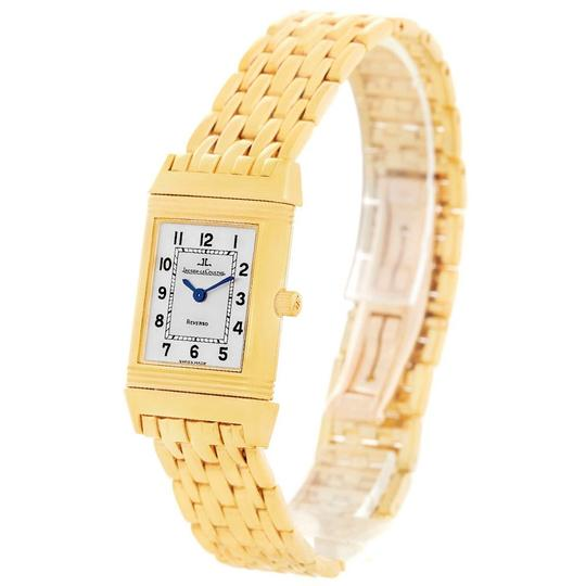 Jaeger-LeCoultre Jaeger LeCoultre Reverso Silver Dial Yellow Gold Ladies Watch Q2611110 Image 3