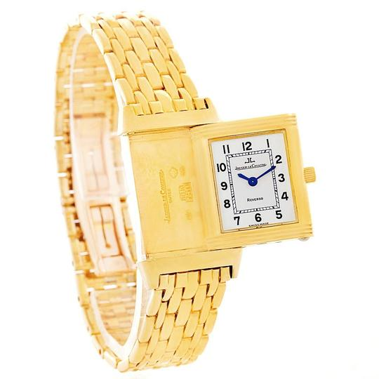 Jaeger-LeCoultre Jaeger LeCoultre Reverso Silver Dial Yellow Gold Ladies Watch Q2611110 Image 4