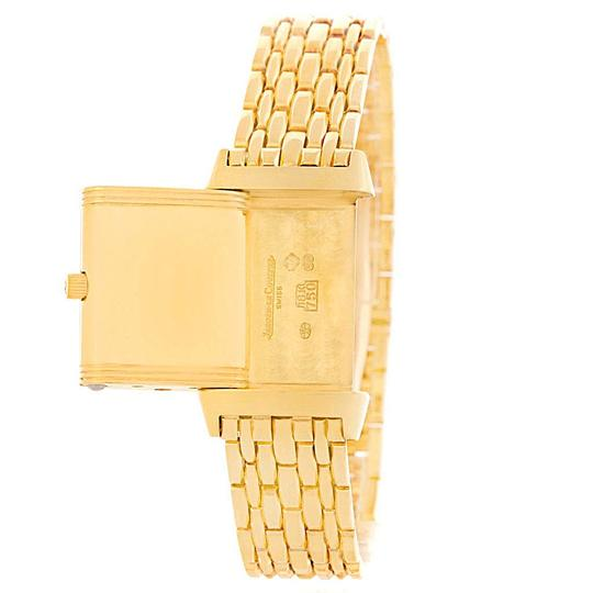 Jaeger-LeCoultre Jaeger LeCoultre Reverso Silver Dial Yellow Gold Ladies Watch Q2611110 Image 9