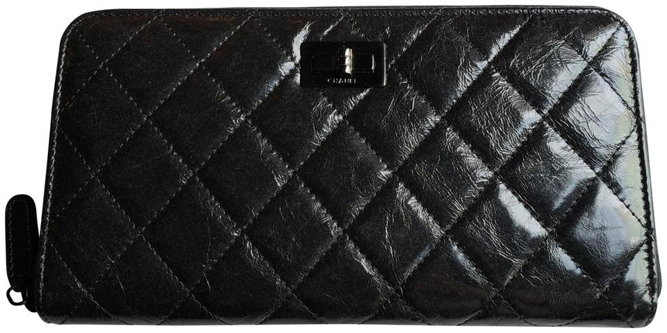 2a5a27e225a6 Chanel   NEW   2.55 Reissue Quilted Aged Calfskin Leather Zipped Wallet  Image 0 ...