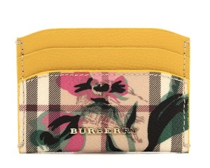 Burberry Izzy Flower Print Card Case