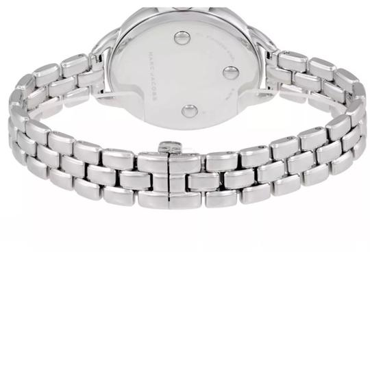 Marc Jacobs New Marc Jacobs Betty Silver Tone Stainless Steel Glitz Dial Watch MJ3541 Image 3