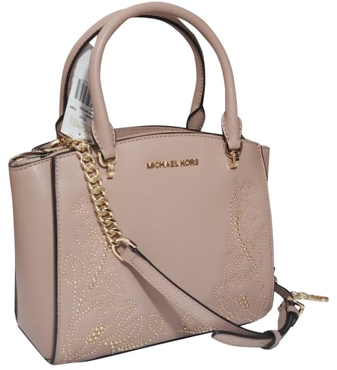 Preload https://img-static.tradesy.com/item/24217169/michael-kors-ellis-small-convertible-beige-leather-satchel-0-4-540-540.jpg