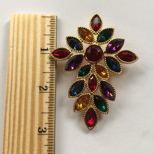 Napier Napier Multi Crystal Brooch From Royalton Collection Image 5