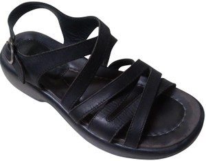 Dansko Comfortable Strappy Black Sandals